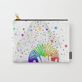 Rainbow Spring - Colors Decompressed Carry-All Pouch