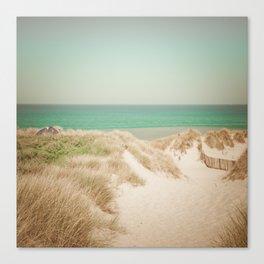 Beach dune miniature 4 Canvas Print