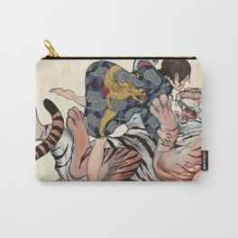 Dragon VS Tiger Carry-All Pouch
