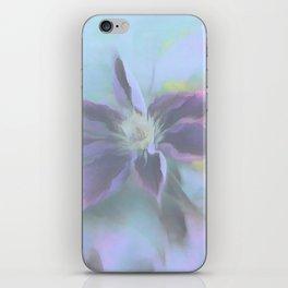Neon Clematis iPhone Skin