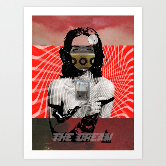 The Dream · Last Night Art Print