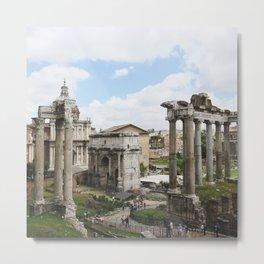 Roma ruins Metal Print