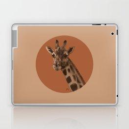 Round Giraffe Laptop & iPad Skin