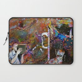 Evaporating on the Edges Laptop Sleeve