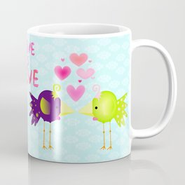Nursery - Love is love:. Coffee Mug