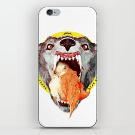 Stay strong! iPhone Skin