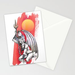 Winged Warrior Fairy Stationery Cards