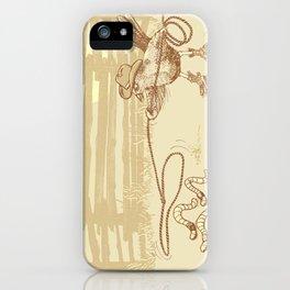 Cowbird iPhone Case