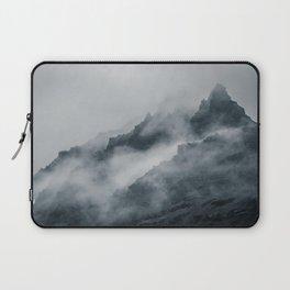 Fog Amongst The Cliffs Laptop Sleeve