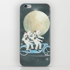 space tandem iPhone & iPod Skin