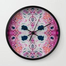 Fragmented 69 Wall Clock