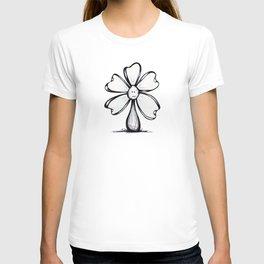 """""""Blank Face"""" Flowerkid T-shirt"""
