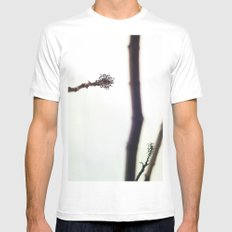 Distance Mens Fitted Tee White MEDIUM