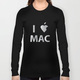 I heart Mac Long Sleeve T-shirt