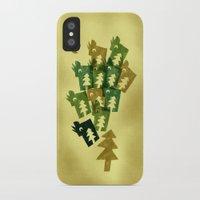 saga iPhone & iPod Cases featuring Woodragons Saga by Teesha Toosha