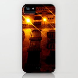 Night Crest 2 iPhone Case