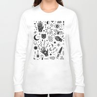 witchcraft Long Sleeve T-shirts featuring Witchcraft II by LordofMasks