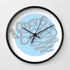 More Bass Wall Clock