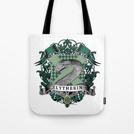 Slytherin Color Crest Tote Bag