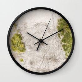 """""""Kanaal"""" 3/7 (2018) Wall Clock"""