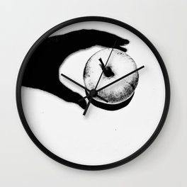 forbidden fruit Wall Clock