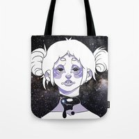 celestial Tote Bags featuring celestial by Jordan Whitaker