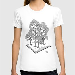 Book Forest T-shirt