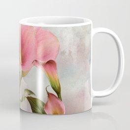 Pink Calla Lily Garden Coffee Mug