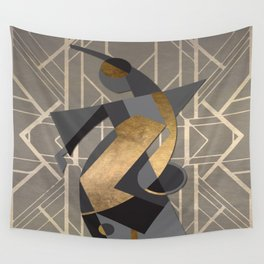 Art Deco Graphic No. 103 Wall Tapestry