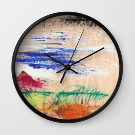Hand-scape Wall Clock