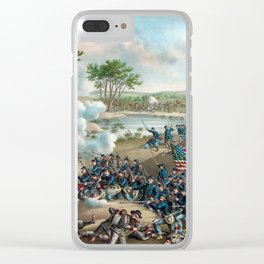 Battle of Cold Harbor Clear iPhone Case
