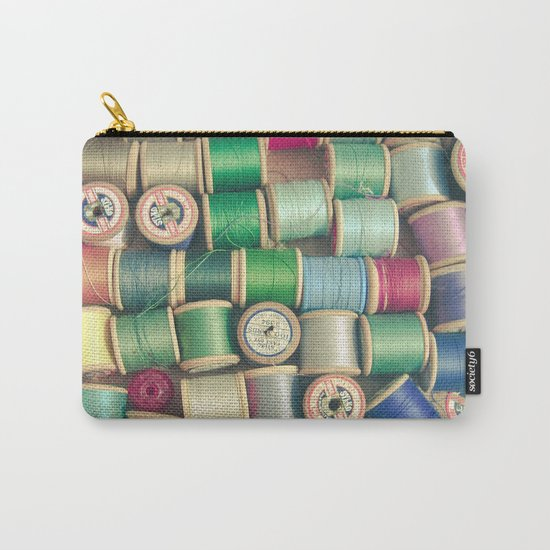 Cotton Reels Carry-All Pouch