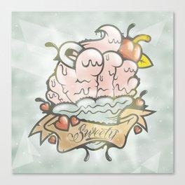 Prince Albert Cupcake Canvas Print