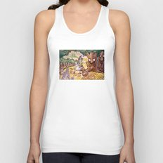 Apple Trees Unisex Tank Top