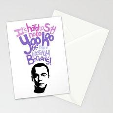 Sheldon Yoohoo Stationery Cards