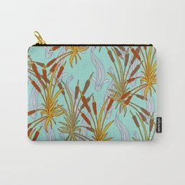 Bulrushes & River Fish Carry-All Pouch
