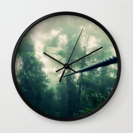 Zip Line Wall Clock