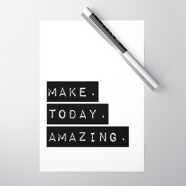 Make Today Amazing Wrapping Paper