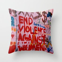 End The Bullshit Throw Pillow