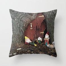 No Place Like Gnome  Throw Pillow
