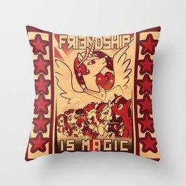 Friendship is Magic Throw Pillow