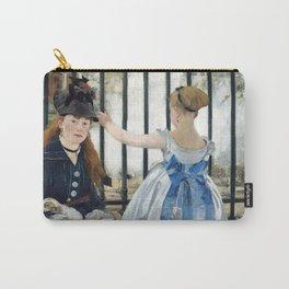 Edouard Manet - Le Chemin de fer (The Railroad) Carry-All Pouch