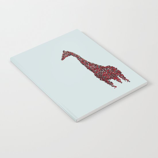 Red Giraffe Notebook