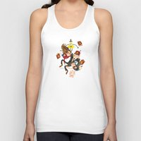 gravity falls Tank Tops featuring Gravity Falls Hug by Super Group Hugs
