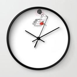 Microsnake Wall Clock