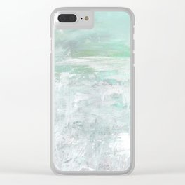 Lost In Serenity No.1d by Kathy Morton Stanion Clear iPhone Case