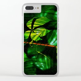 Leaves V9WL Clear iPhone Case