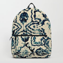 Azulejo II - Portuguese hand painted tiles Backpack