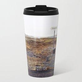 Post box, Iceland Travel Mug