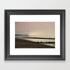 An Autumn Beach 2/2 Framed Art Print